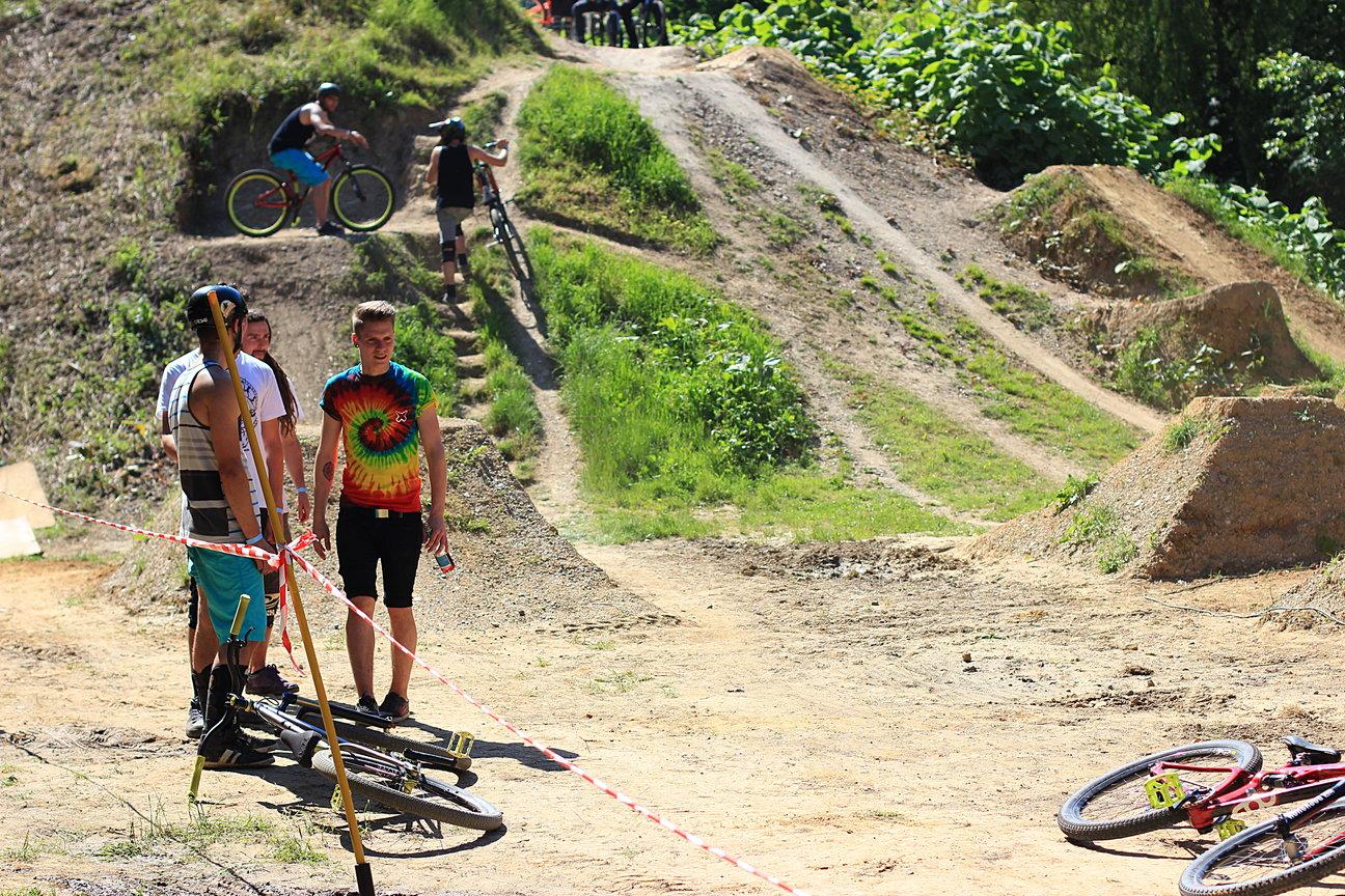 BMX Barons Of Trails Contest 2014