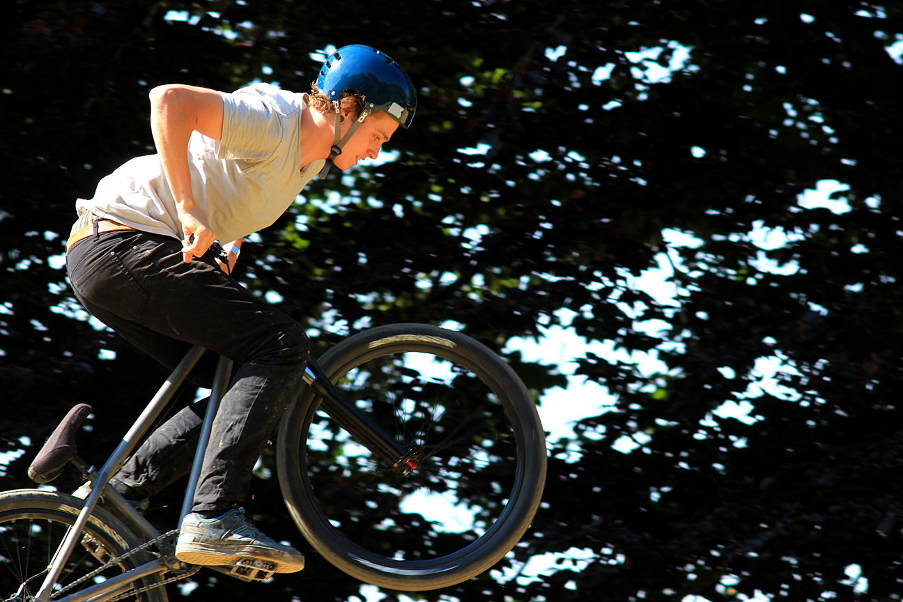 BMX Barons Of Trails Contest 2014