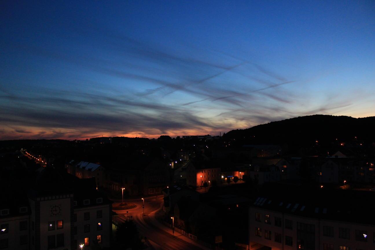 Rügen (2016) - Sassnitz - Himmel über Sassnitz III