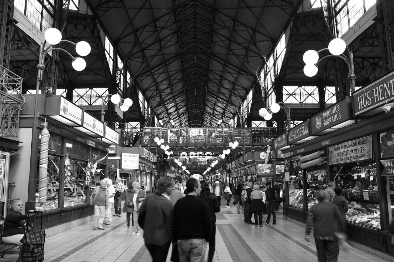 Budapest (2015) - Große Markthalle